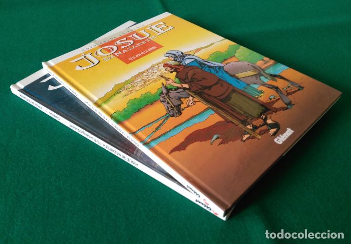 Cómics: JOSUÉ DE NAZARETH - VICTOR DE LA FUENTE - TOMO 1 Y TOMO 2 - EDICIONES GLÉNAT - AÑO 1998 - Foto 2 - 203240398
