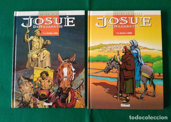 JOSUÉ DE NAZARETH - VICTOR DE LA FUENTE - TOMO 1 Y TOMO 2 - EDICIONES GLÉNAT - AÑO 1998 (Tebeos y Comics - Glénat - Autores Españoles)