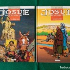 Cómics: JOSUÉ DE NAZARETH - VICTOR DE LA FUENTE - TOMO 1 Y TOMO 2 - EDICIONES GLÉNAT - AÑO 1998. Lote 203240398