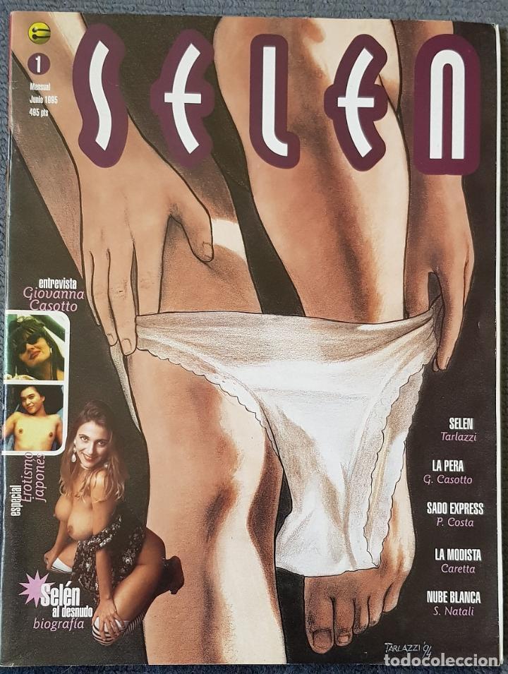 SELEN #1 (GLENAT, 1995) (Tebeos y Comics - Glénat - Serie Erótica)