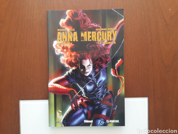 ANNA MERCURY - LA CUCHILLA (DE WARREN ELLIS) (Tebeos y Comics - Glénat - Comic USA)