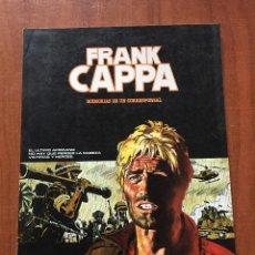 Cómics: FRANK CAPPA - MEMORIAS DE UN CORRESPONSAL.. Lote 203900267