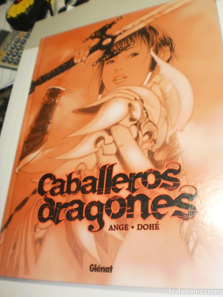 CABALLEROS ARAGONES. ANGE. DOHÉ. GLÉNAT 2007 TAPA DURA. COLOR. 64 PÁG 32 X 24 (SEMINUEVO) (Tebeos y Comics - Glénat - Serie Erótica)