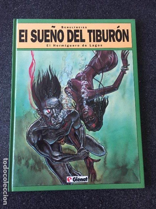 EL HORMIGUERO DE LAGOS - EL SUEÑO DEL TIBURÓN 1 - 1ª EDICIÓN - GLENAT - 1993 - ¡NUEVO! (Tebeos y Comics - Glénat - Autores Españoles)
