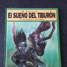 Cómics: EL HORMIGUERO DE LAGOS - EL SUEÑO DEL TIBURÓN 1 - 1ª EDICIÓN - GLENAT - 1993 - ¡NUEVO!. Lote 204829835