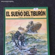 Cómics: LAGOS CONNECTION - EL SUEÑO DEL TIBURÓN 2 - 1ª EDICIÓN - GLENAT - 1994 - ¡NUEVO!. Lote 204829951