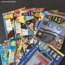 Cómics: VIÑETAS COMPLETA 14 NÚMEROS - 1ª EDICIÓN - GLENAT - 1993 - ¡NUEVA!. Lote 204830417