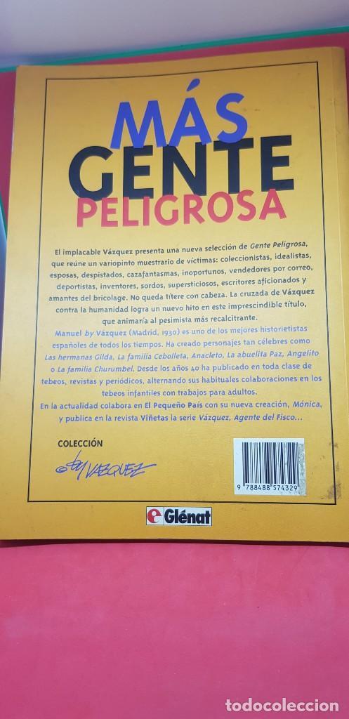 Cómics: MÁS GENTE PELIGROSA BY VÁZQUEZ 1ª EDICIÓN 1994 - Foto 3 - 204980032