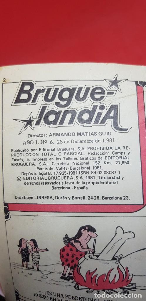 Cómics: BRUGUELANDIA. Nº 6. BRUGUERA 1ª ED.1981. - Foto 3 - 204981097