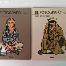 Cómics: EL FOTÓGRAFO TOMOS 1 Y 2 EDICIONES GLENAT. Lote 205148533