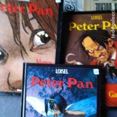 Comics : PETER PAN LOISEL GLENAT GARFIO N 5 DESTINOS N 6 MANOS ROJAS N 4. Lote 205280811
