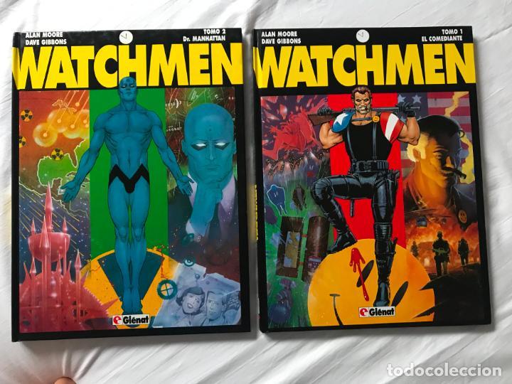 Cómics: WATCHMEN. DR. MANHATTAN. TOMO 1 Y 2. GLENAT. ALAN MOORE. DAVE GIBBONS - Foto 9 - 205511770