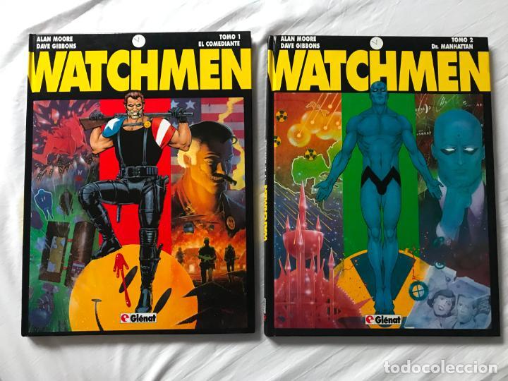 WATCHMEN. DR. MANHATTAN. TOMO 1 Y 2. GLENAT. ALAN MOORE. DAVE GIBBONS (Tebeos y Comics - Glénat - Comic USA)