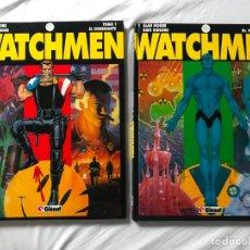 Cómics: WATCHMEN. DR. MANHATTAN. TOMO 1 Y 2. GLENAT. ALAN MOORE. DAVE GIBBONS. Lote 205511770