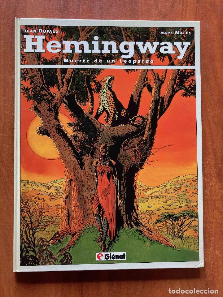 HEMINGWAY.MUERTE DE UN LEOPARDO (Tebeos y Comics - Glénat - Autores Españoles)