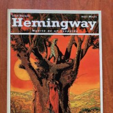 Comics: HEMINGWAY.MUERTE DE UN LEOPARDO. Lote 205695572
