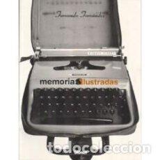 Comics : MEMORIAS ILUSTRADAS (FERNANDO FERNANDEZ) GLENAT - IMPECABLE - SUB01M. Lote 205764405