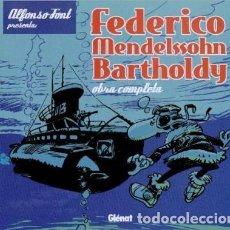 Cómics: FEDERICO MENDELSSOHN BARTHOLDY (ALFONSO FONT) GLENAT - CARTONE - IMPECABLE - SUB01M. Lote 205765428