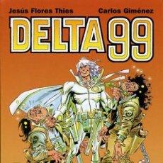 Cómics: DELTA 99 (CARLOS GIMENEZ) GLENAT - BUEN ESTADO - SUB01M. Lote 205788727