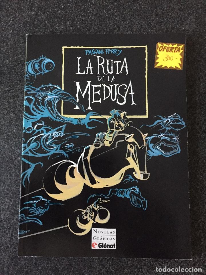 LA RUTA DE LA MEDUSA - PASQUAL FERRY - NOVELA GRÁFICA - 1ª EDICIÓN - GLENAT - 1994 - ¡NUEV0! (Tebeos y Comics - Glénat - Autores Españoles)