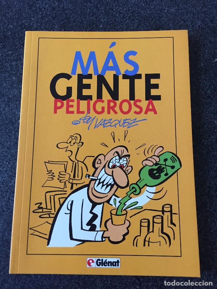 MÁS GENTE PELIGROSA - COLECCIÓN BY VAZQUEZ Nº 2 - 1ª EDICIÓN - GLENAT - 1994 - ¡NUEV0! (Tebeos y Comics - Glénat - Autores Españoles)