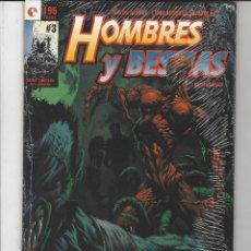 Cómics: HOMBRES Y BESTIAS - COMPLETA - 3 NºS - GLENAT. Lote 206769765
