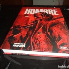 Cómics: HOMBRE-1-INTEGRAL JOSE ORTIZ ANTONIO SEGURA EDT GLENAT NUEVO.. Lote 206797588