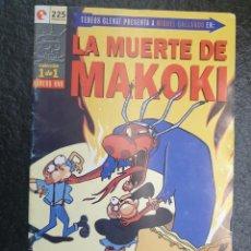 Cómics: LA MUERTE DE MAKOKI, MIGUEL GALLARDO. 1 DE 1.. Lote 207150032