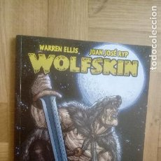 Cómics: WOLFSKIN (WARREN ELLIS / JUAN JOSÉ RYP) GLENAT, 2010 (IMPECABLE). Lote 208243270