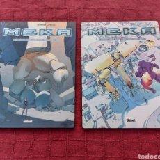 Cómics: MEKA-1,Y MEKA 2 OUTSIDE- GLENAT COMIC CIENCIA FICCIÓN, SERIE COMPLETA 2 TOMOS 1Y2 .. Lote 209002376