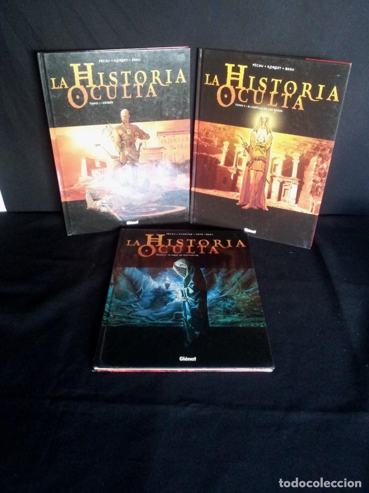 JEAN-PIERRE PECAU - LA HISTORIA OCULTA ( 3 PRIMEROS TOMOS) - (Tebeos y Comics - Glénat - Autores Españoles)