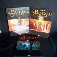 Cómics: JEAN-PIERRE PECAU - LA HISTORIA OCULTA ( 3 PRIMEROS TOMOS) -. Lote 209768130
