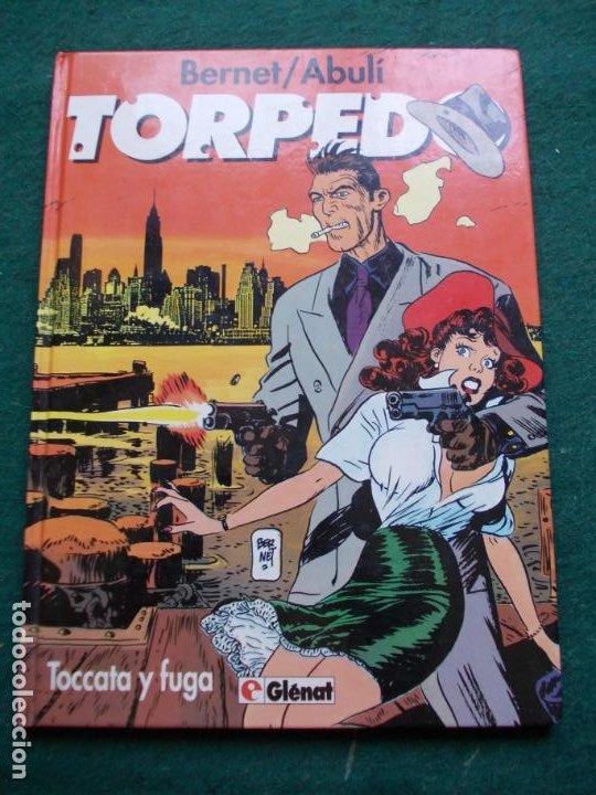 TORPEDO TOCATA Y FUGA GLENAT (Tebeos y Comics - Glénat - Autores Españoles)
