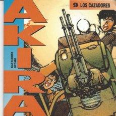 Cómics: AKIRA 9 - LOS CAZADORES - GLENAT- BUEN ESTADO. Lote 210179438