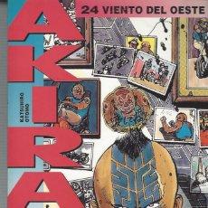 Cómics: AKIRA 24 - VIENTO DEL OESTE - GLENAT - BUEN ESTADO. Lote 210179605