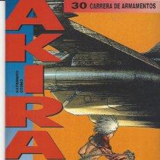 Cómics: AKIRA 30 - CARRERA DE ARMAMENTOS - GLENAT - BUEN ESTADO. Lote 210179771