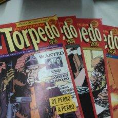 Cómics: TORPEDO DEL (1 AL 5) TRES HISTORIAS Y UN RELATO, EDITORIAL GLÉNAT. Lote 210544470