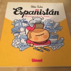 Cómics: ESPAÑISTÁN - ALEIX SALÓ - 2011 - ESPAÑA SE VA A LA MIERDA. Lote 210611107