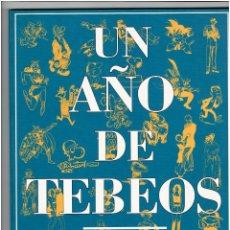 Cómics: * UN AÑO DE TEBEOS 1993 * GLENAT CATALOGO ILUSTRADO *. Lote 210818699