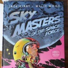 Cómics: JACK KIRBY. WALLY WOOD. SKY MASTERS. TOMO 1. GLÉNAT.. Lote 211492311