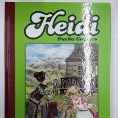 Cómics: HEIDI - PURITA CAMPOS - GLÉNAT - REBAJADO. Lote 211665423