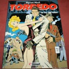Cómics: TORPEDO - LA LEY DEL TALÓN - ABULI/BERNET - TOMO 8 - GLÉNAT - 1994. Lote 212223026
