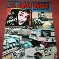 Cómics: EL AMOR DUELE - BRENDAN BECKETT P.I. - RAMÓN DE ESPAÑA / KEKO - GLÉNAT - 1997. Lote 212229063