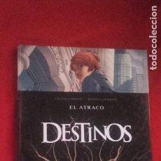 Cómics: DESTINOS 1 - EL ATRACO - GIROUD & DURAND - CARTONE. Lote 212320945