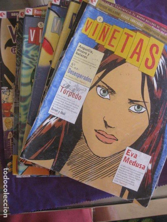 VIÑETAS DEL Nº 1 AL Nº 14 (FALTA EL Nº 6) EDITORIAL GLENAT. (Tebeos y Comics - Glénat - Autores Españoles)