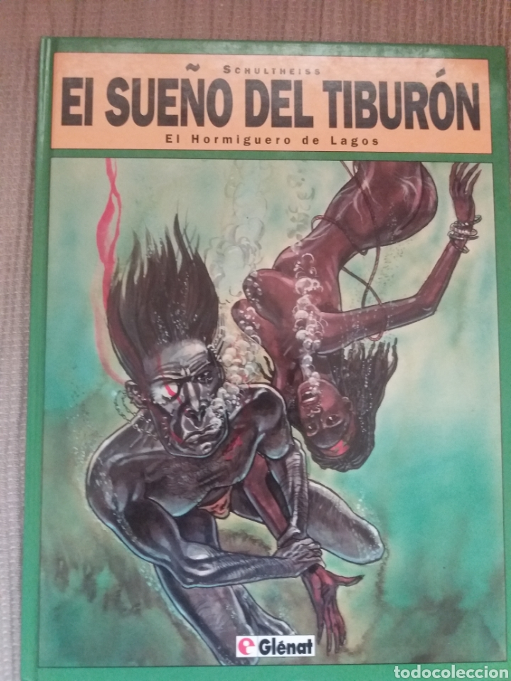 COMIC EL SUEÑO DEL TIBURON (Tebeos y Comics - Glénat - Autores Españoles)