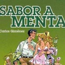 Cómics: CARLOS GIMENEZ SABOR A MENTA GLENAT. Lote 212550481