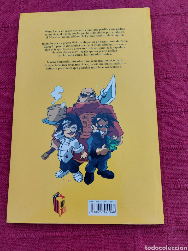 Cómics: KUNG FU MOUSSE -NACHO FERNÁNDEZ-GLENAT-LLEVA FIRMA Y CARICATURA - Foto 2 - 212555471