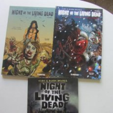 Cómics: NIGHT OF THE LIVING DEAD COMPLETA 3 TOMOS BUEN ESTADO GLENAT AVATAR. Lote 212791632