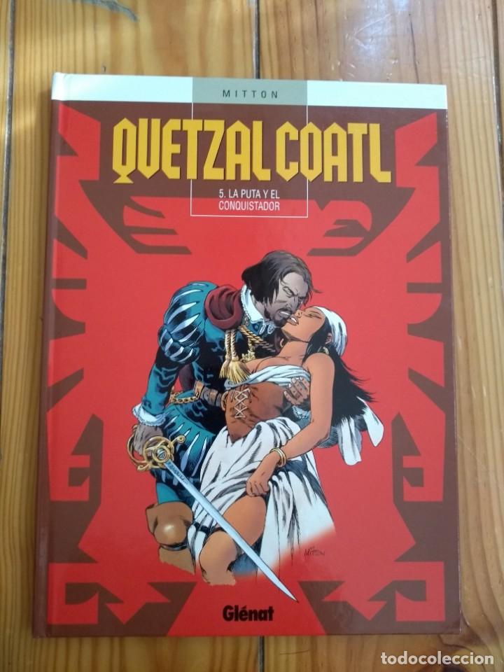 QUETZALCOATL T 5: LA PUTA Y EL CONQUISTADOR - D2 (Tebeos y Comics - Glénat - Autores Españoles)